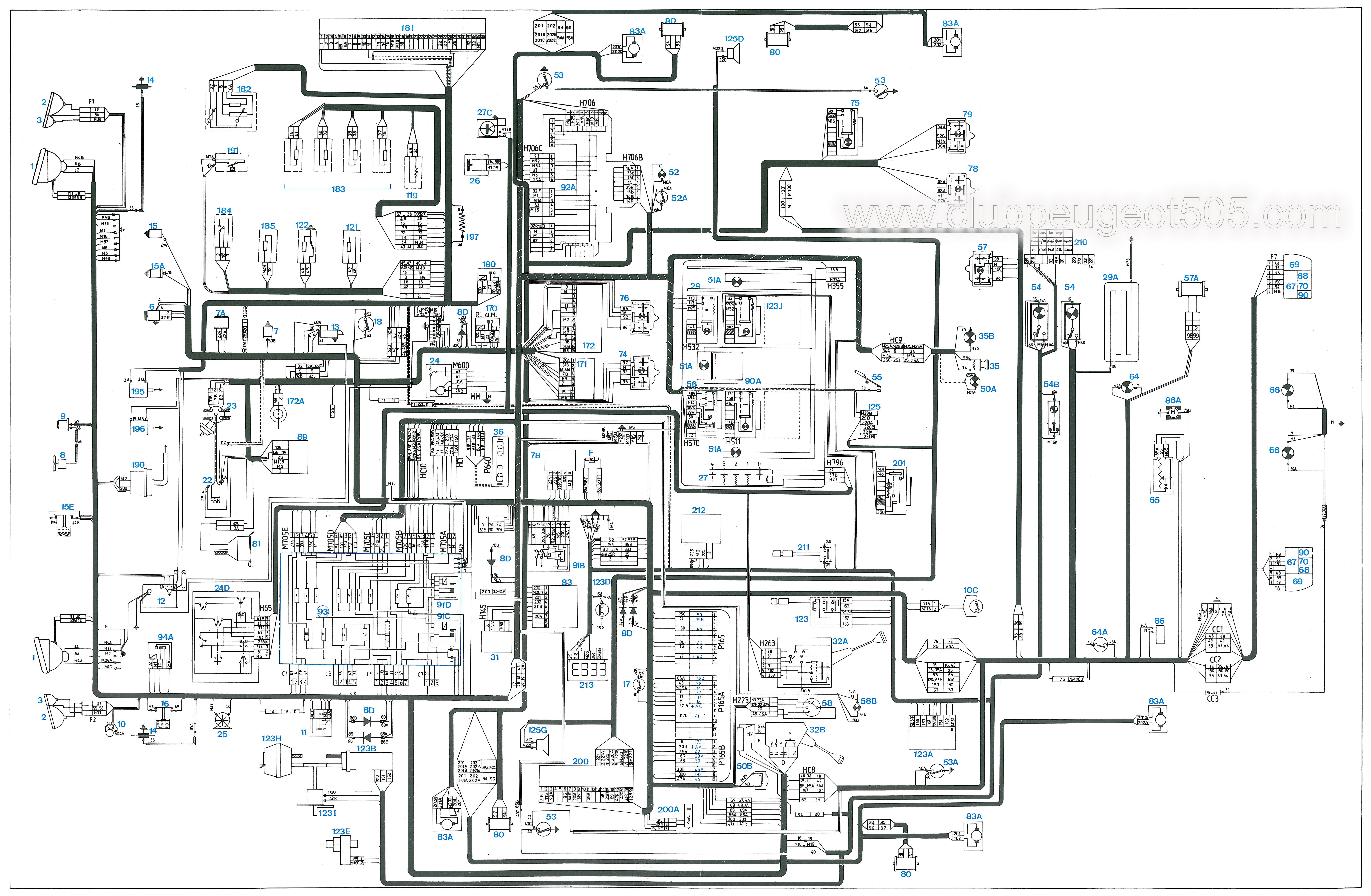 Circuito Y Misterios : Circuito electrico peugeot xrd mux diagrama de cableados